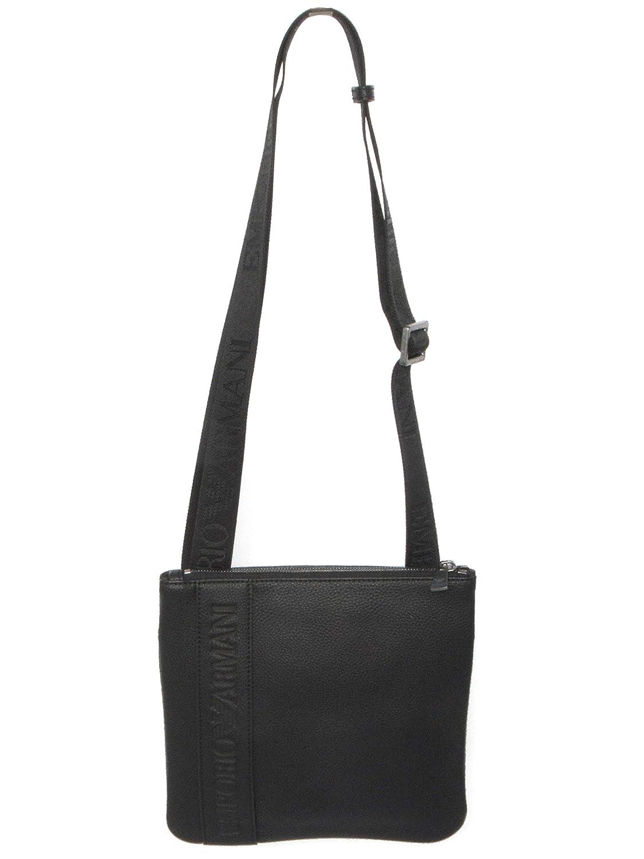 d1dcb54154 Amazon.com: Armani Women's Emporio Logo Embossed Shoulder Bag One ...