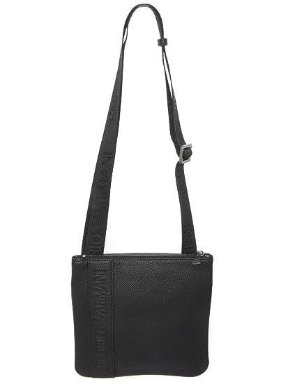 e29f8d3af553 Emporio Armani Debossed Logo Black One Size  Armani  Amazon.co.uk  Clothing