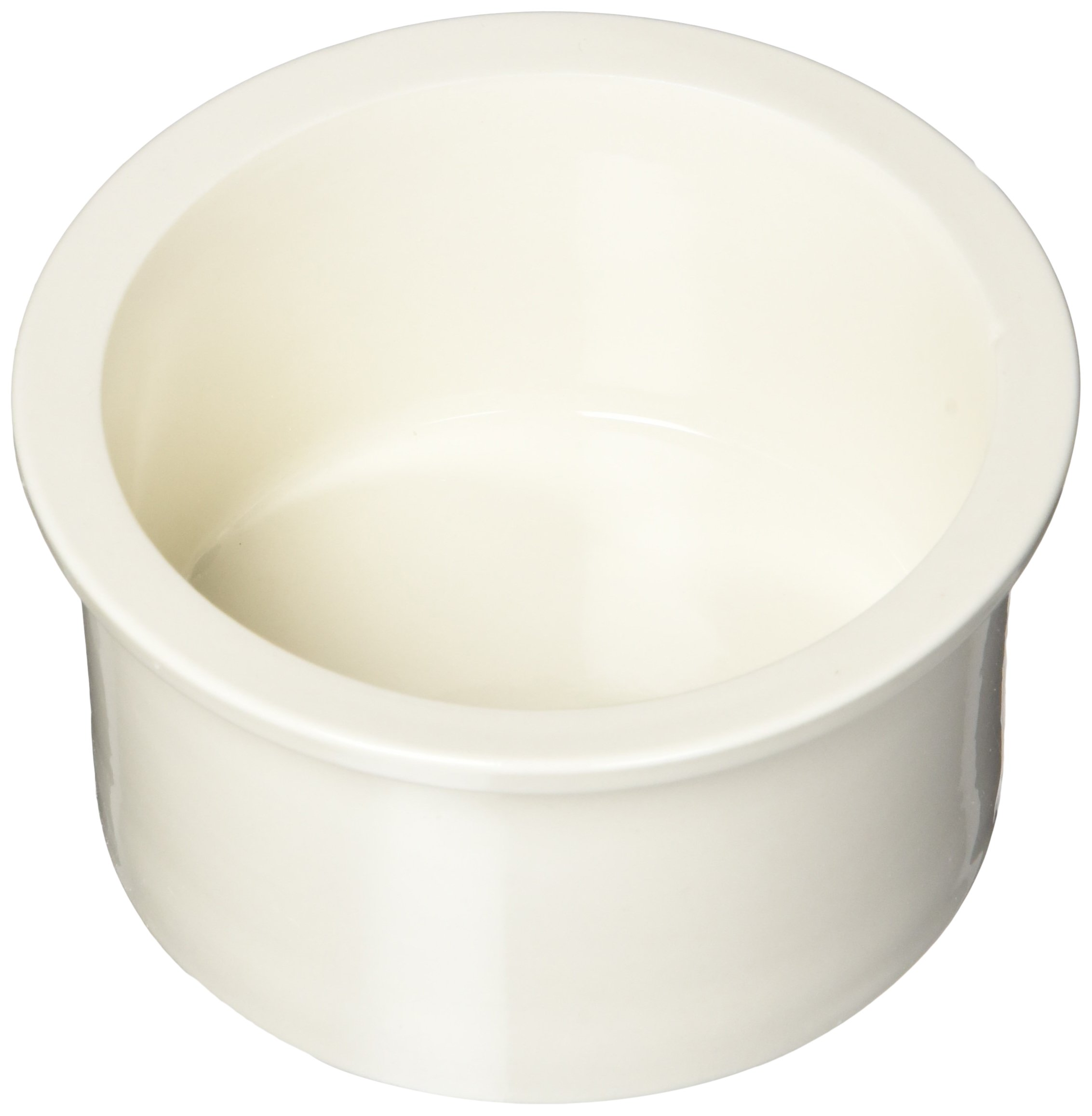 Prevue Pet Products Ceramic 4 Bowl Replacement Cup Set, Bone White
