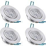 Vidaxl 6 faretti da incasso led 3 w luce led a risparmio for Faretti risparmio energetico