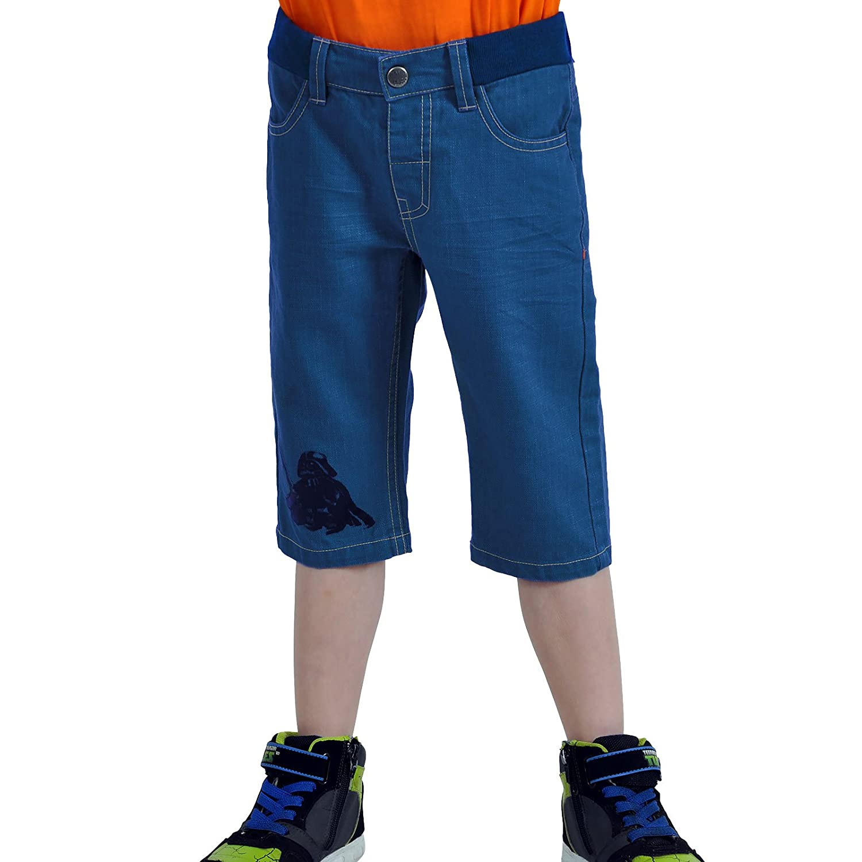 LEGO Pantalones Cortos Star Wars Darth Vader Bermudas para ni/ños Preston 350 con Azul de algod/ón el/ástico en la Cintura