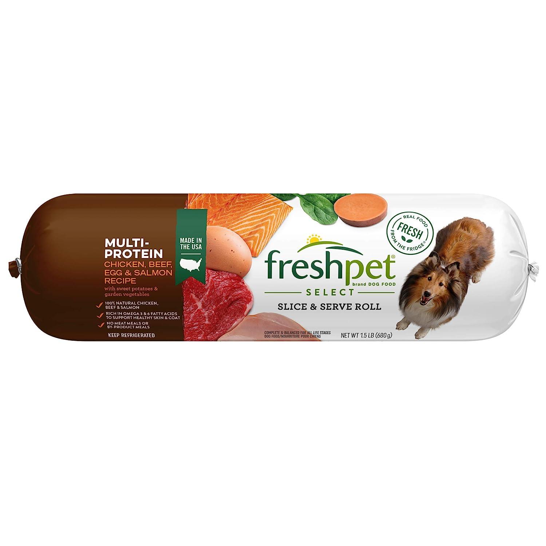 Freshpet Select Mulit Protien Recipe Dog Food, 1.5 Pound