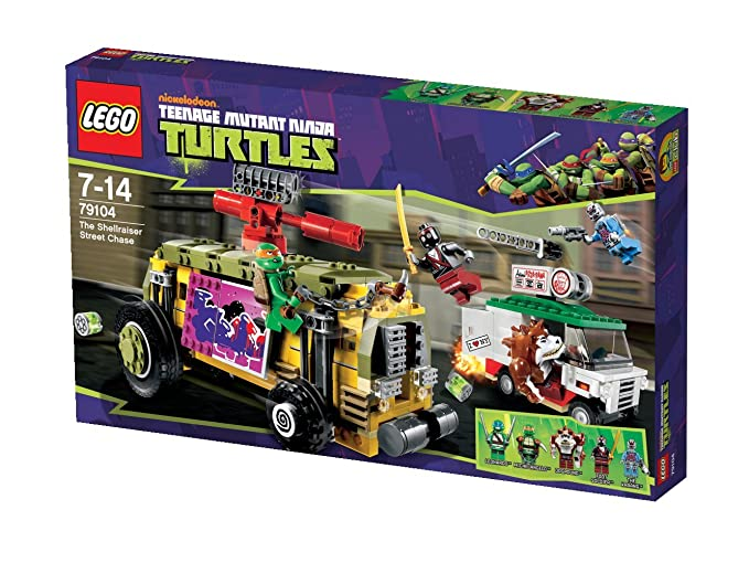 LEGO Tortugas Ninja - Persecución en el furgón blindado (79104)