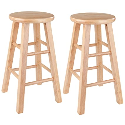 Awesome Winsome Wood Pacey Stool 24 Natural Pdpeps Interior Chair Design Pdpepsorg