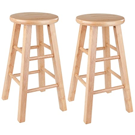 Winsome Wood 83224 Pacey Stool, 24 , Natural