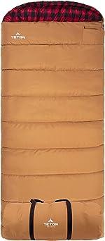 TETON Sports Deer Hunter Sleeping Bag; Warm and Comfortable Sleeping Bag