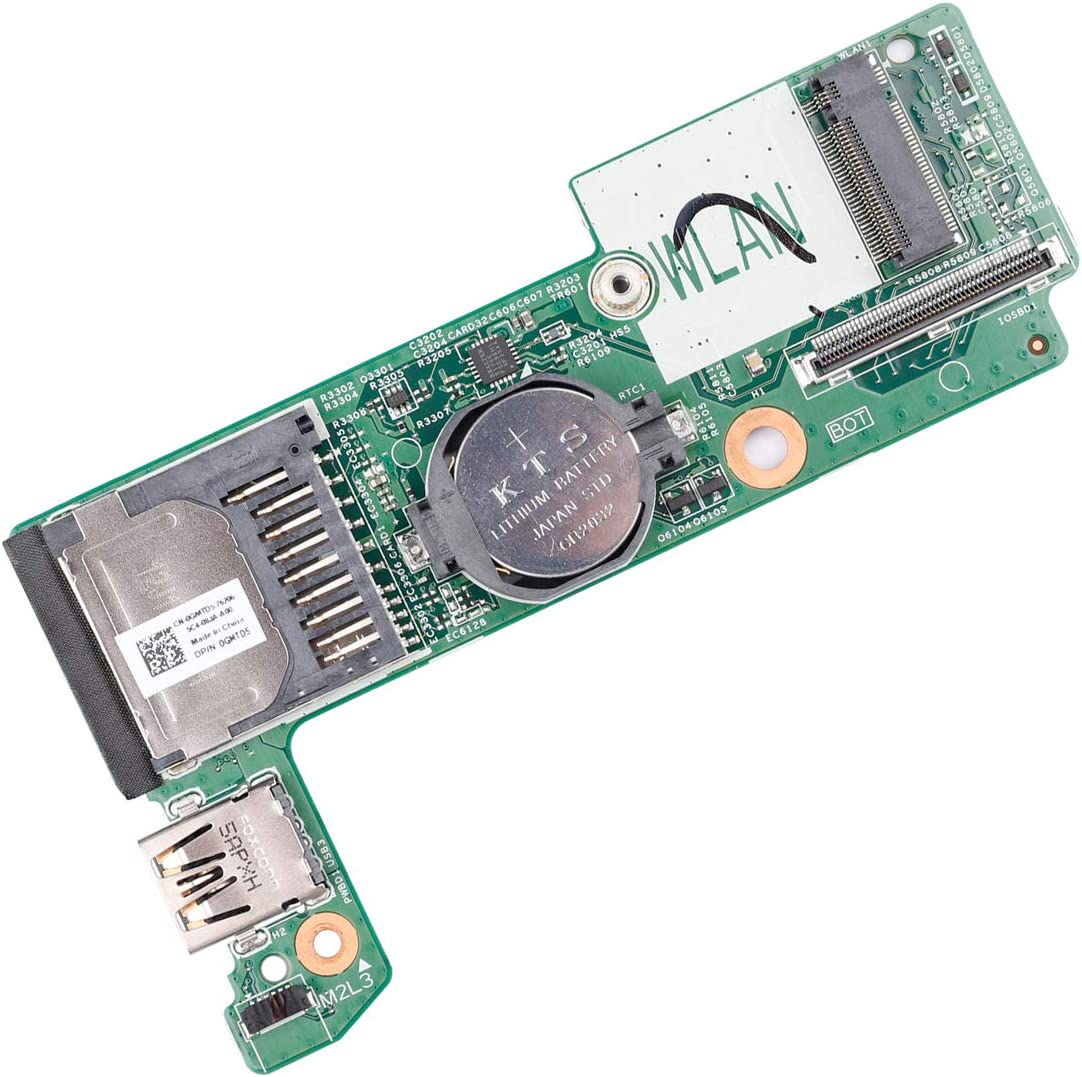 Replacement Laptop USB Card Reader Board GMTD5 0GMTD5 Compatible with Dell Inspiron 7348 13-7000 Series 5DTF9
