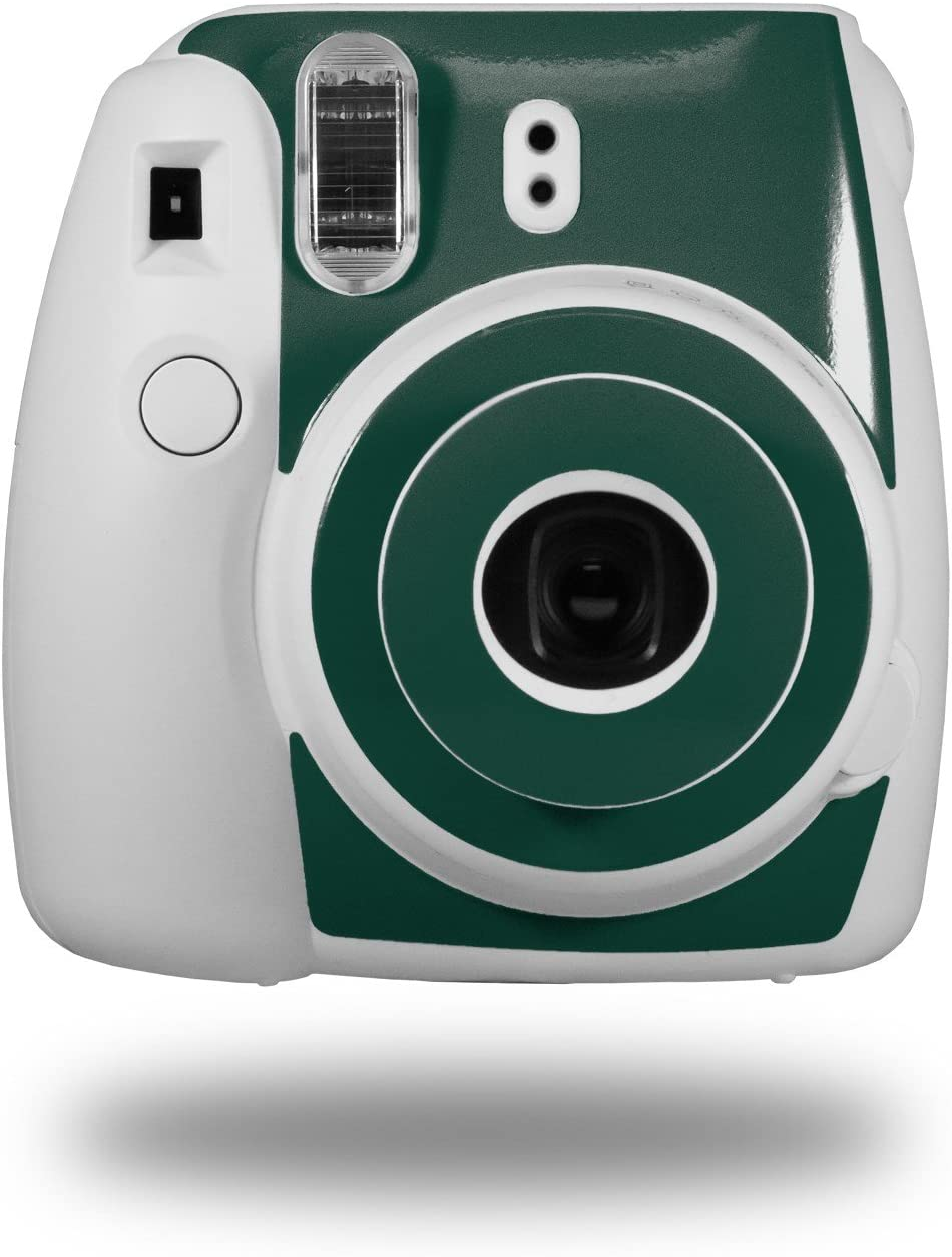 CAMERA NOT INCLUDED WraptorSkinz Skin Decal Wrap for Fujifilm Instax Mini 8 Camera Solids Collection Hunter Green