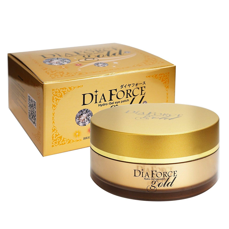 Rearar DiaForce Gold Hydro-Gel Eye Patch, 60 Count Beauty Distributor Express 8809347000702