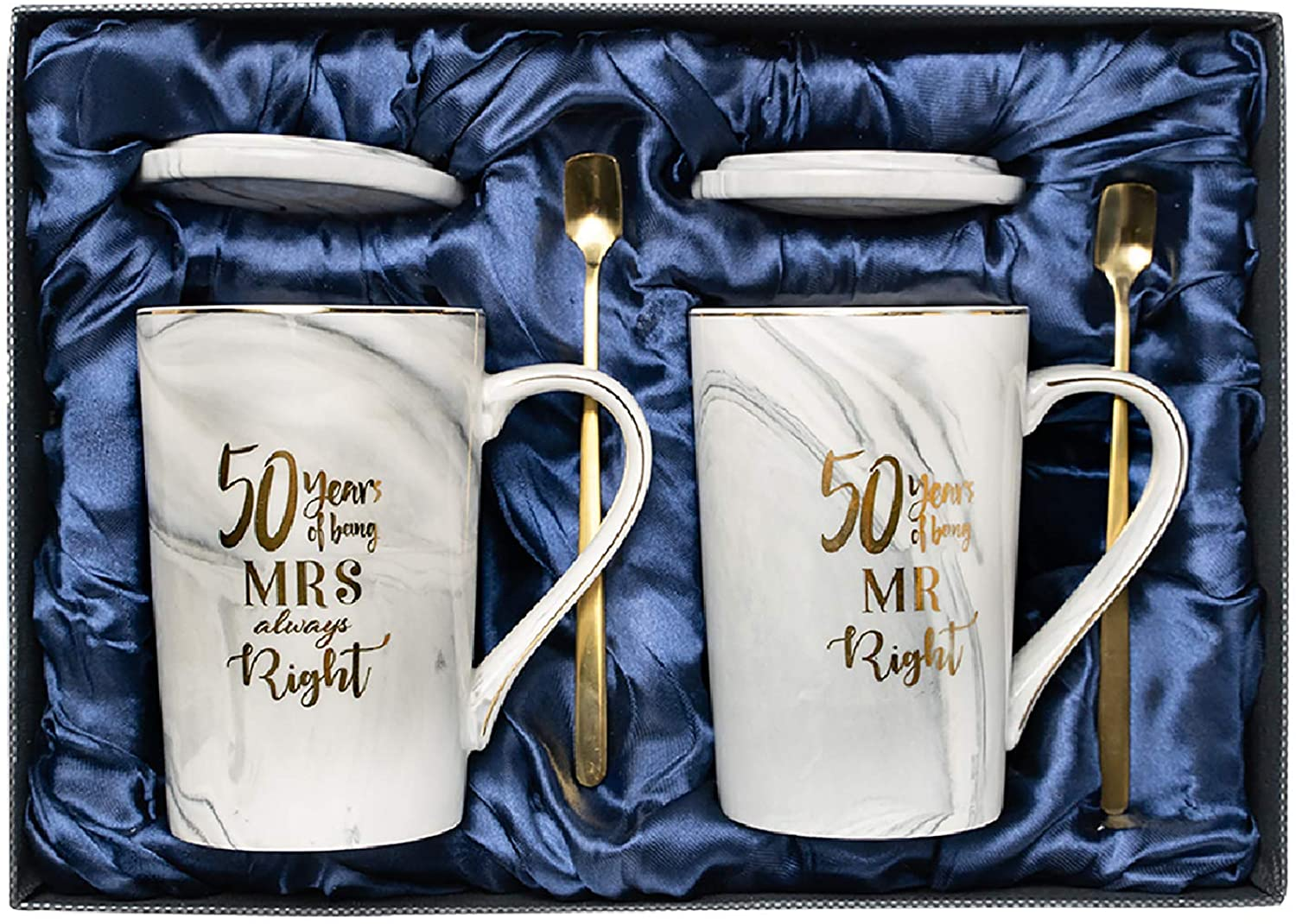 Amazon Com 50th Anniversary Gifts For Couple 50th Wedding Anniversary Gifts Golden Anniversary Gifts For Couples Gifts For Grandparents Gifts For 50th Anniversary Grandpa Grandma Kitchen Dining