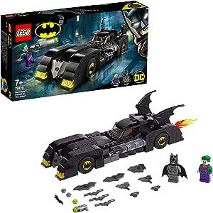 LEGO Super Heroes - Batmobile: La Persecución del Joker Juguete de construcción de Vehículo de Batman, Novedad 2019 (76119) , color/modelo surtido