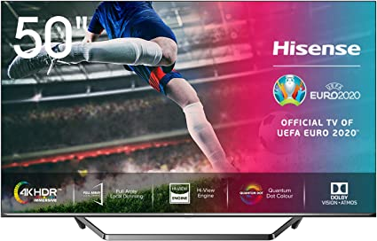 Tv android tv 4k hisense de 50""