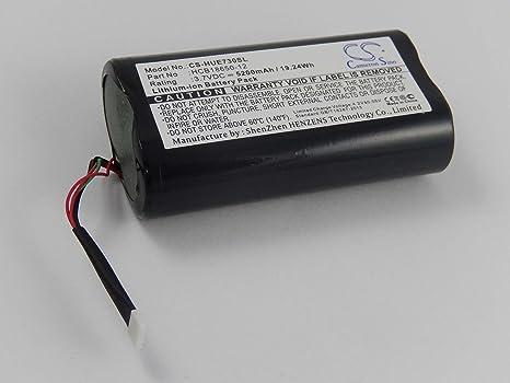 vhbw Batería Li-Ion 5200mAh (3.7V) para Router, Hotspot Huawei E5730