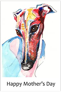 Peter andre greeting birthday christmas card blank inside to write mothers day card greyhound whippet lurcher italian sighthound gift dog custom text bookmarktalkfo Image collections