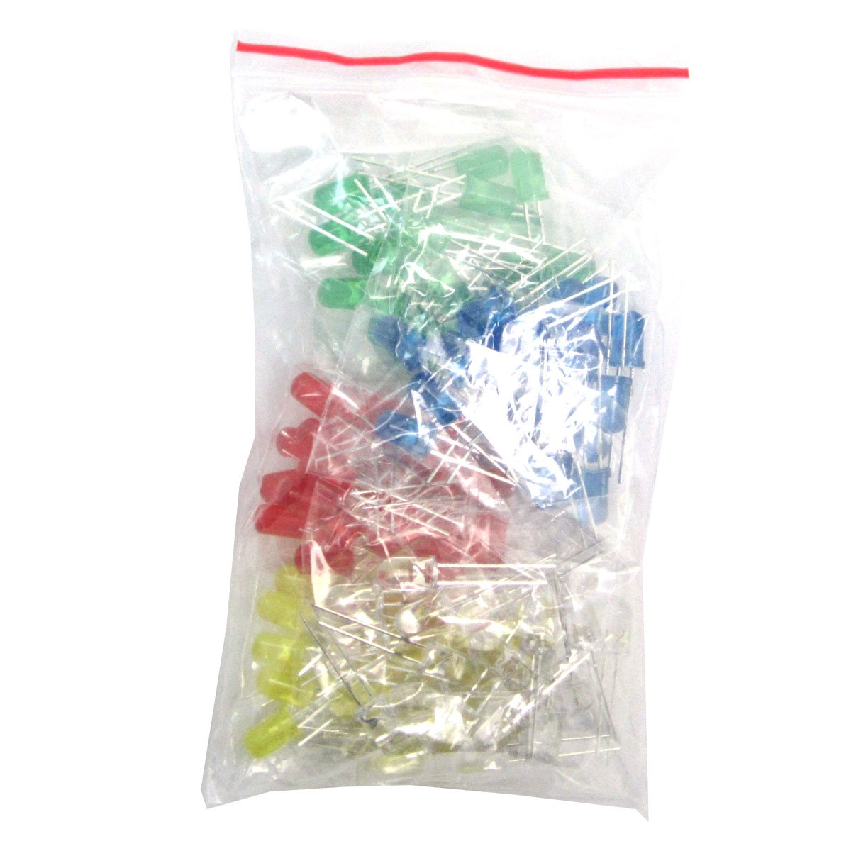 LED Diodes 30 Values Resistors,Electrolytic Capacitor Package Ceramic Capacitors Common Diodes Common Transistor WINGONEER Electronic Components Package Total 1390 PCS