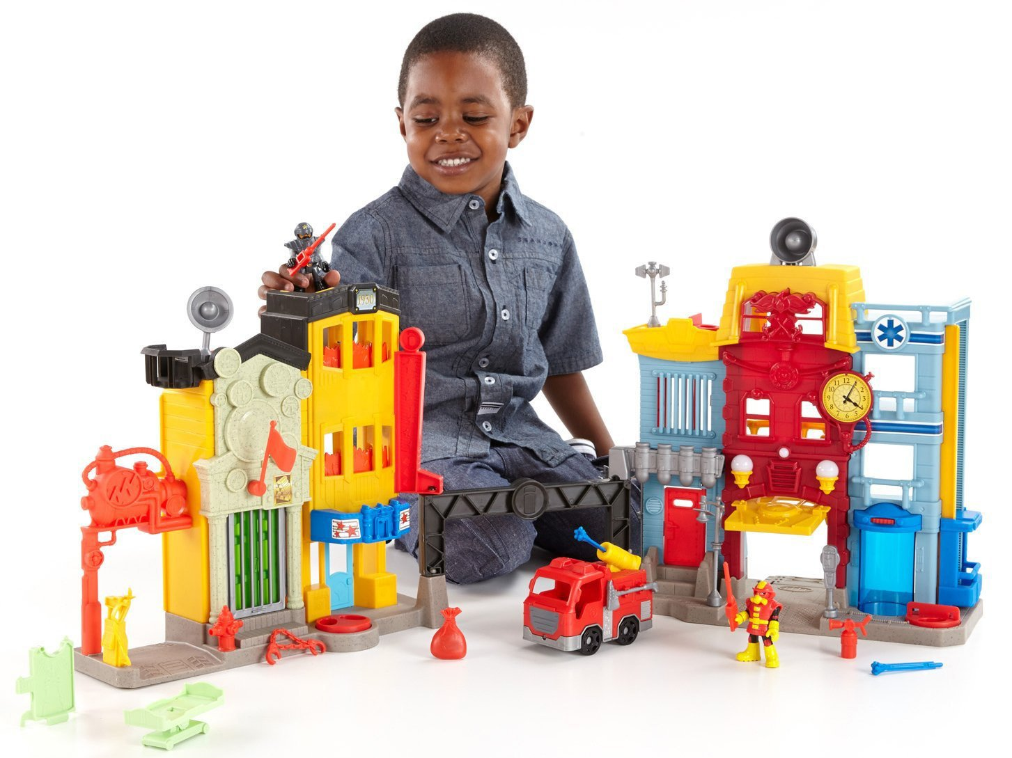 FisherPrice Adventure City with Action Tech'