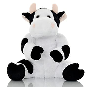 Amazon Com Sootheze Toasty Cow Weighted Stuffed Animals