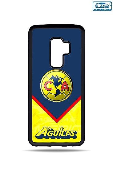 Aguilas America Liga Mx ModifiedCases Bumper Case Compatible with Galaxy S9 Plus