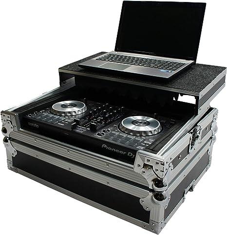 Harmony Cases HCNVLT Flight Glide Laptop Stand Road DJ Custom Case Numark NV II