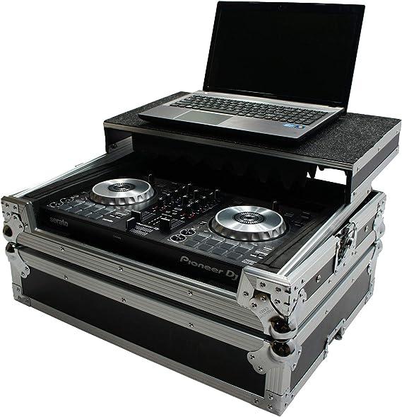 Harmony HCMINILT Flight Glide Laptop Stand Road DJ Custom Case fits Gemini G2V