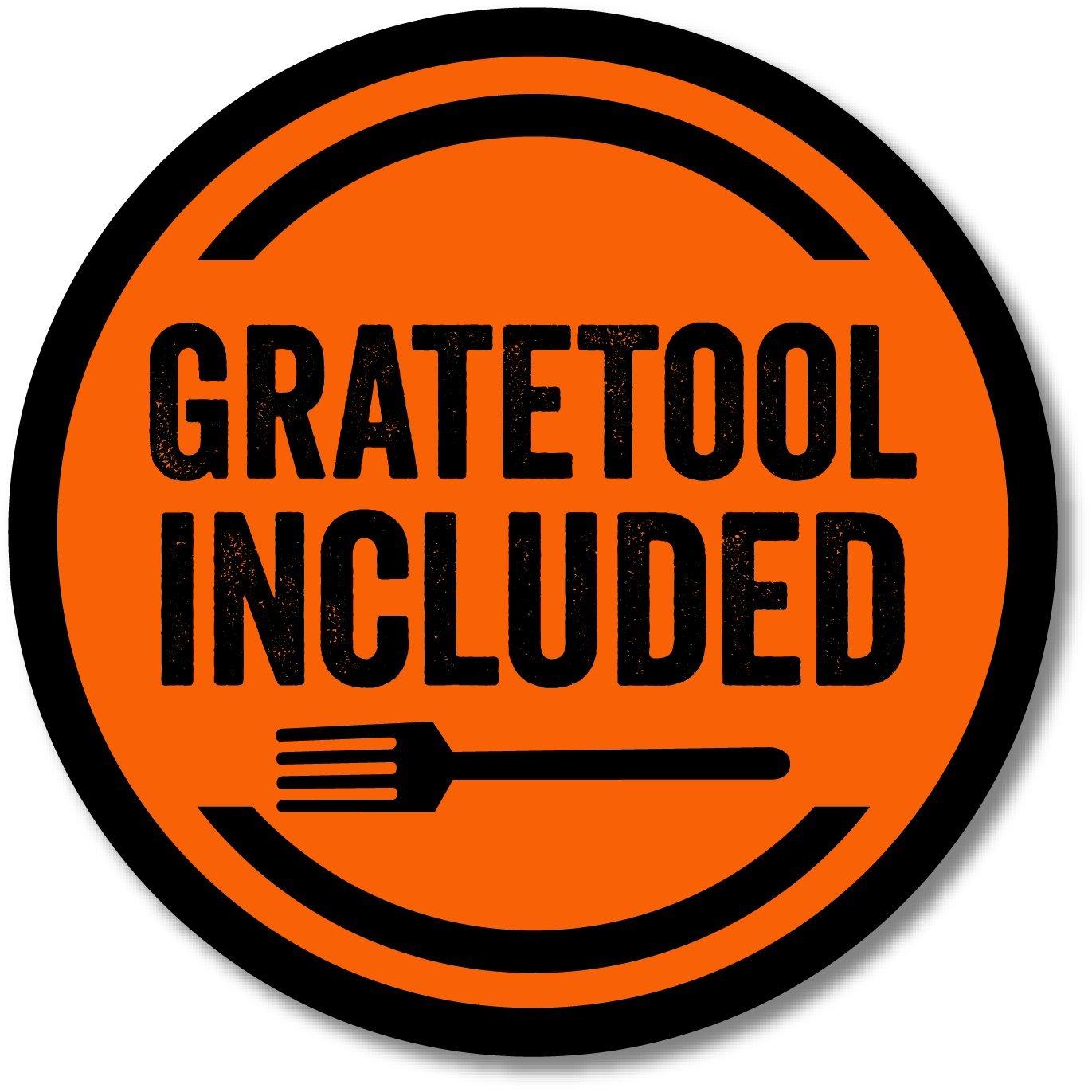 Set of Three 13.75 GrillGrates Grate Tool interlocking