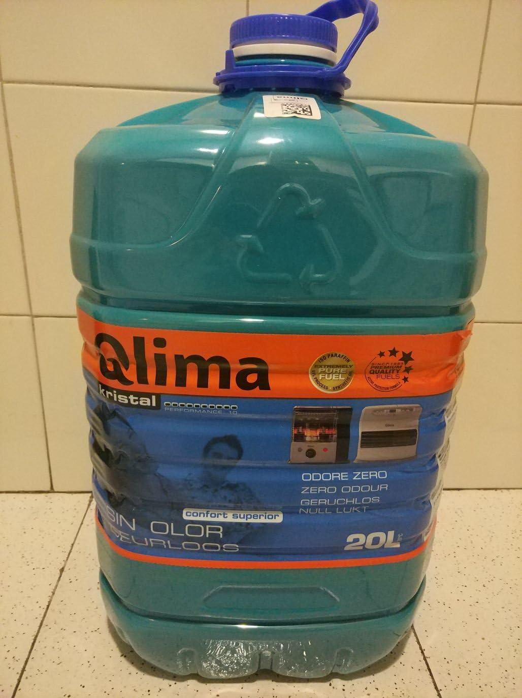 Qlima 8713508708119 20L Combustible líquido accesorio para calentador eléctrico - Accesorios para calentadores eléctricos (Combustible líquido, Multicolor, 20 L, 265 mm, 239 mm, 445 mm)