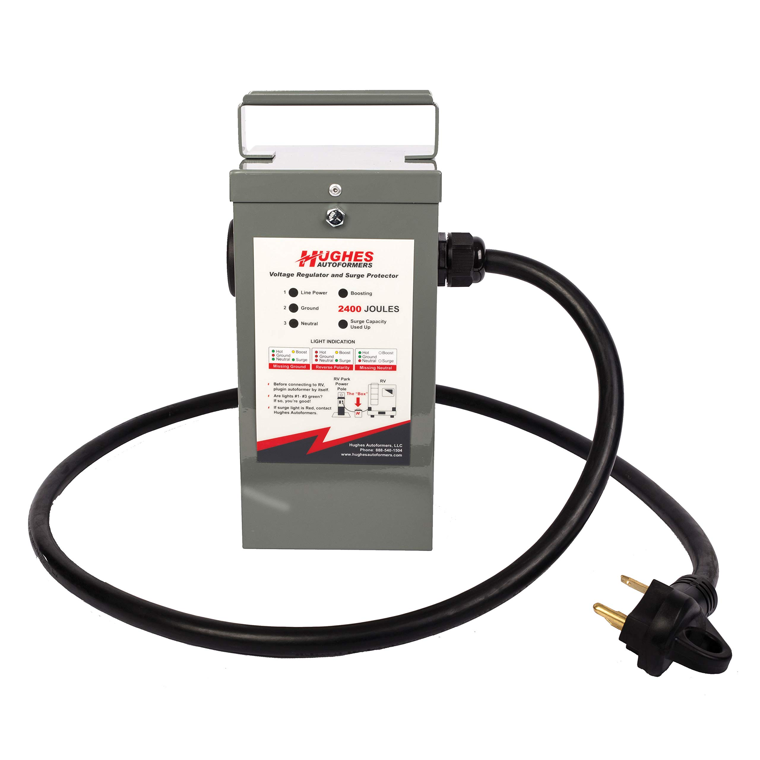 Hughes Autoformers RV2130-SP Voltage Booster/Surge 30 Amp by Hughes Autoformers