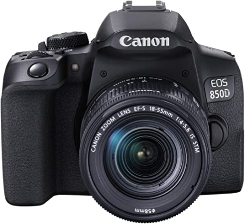 Canon Eos 850d Dslr Digitalkamera Gehäuse Mit Kamera