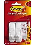 Command Medium Hooks, White, 4-Hook