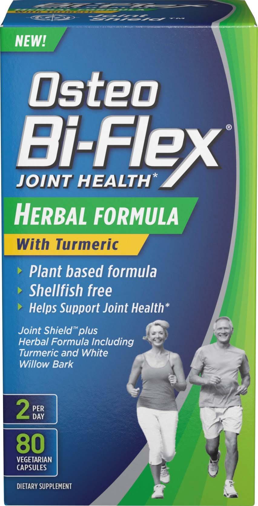 Osteo Bi-Flex® Herbal Formula w/Turmeric 80 Vegetarian Capsules