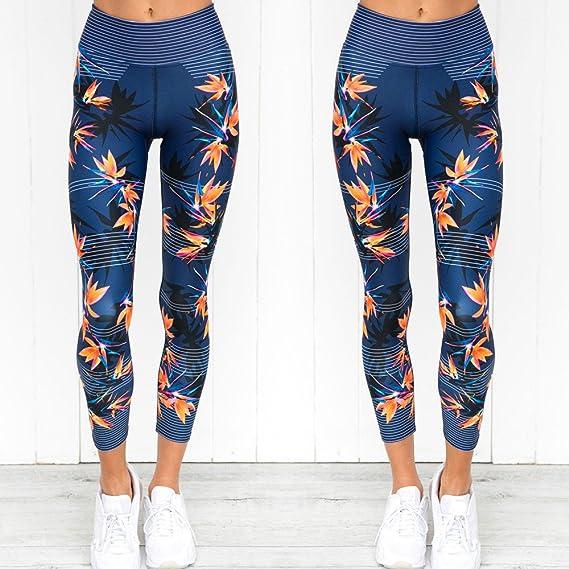 Amazon.com: SULEAR New Sports Leggings Women High Waist ...