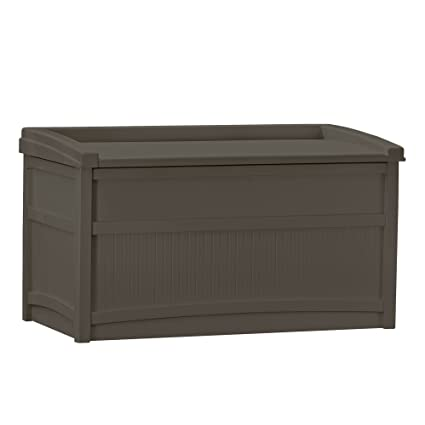 Amazoncom Suncast Db5500j 50 Gallon Deck Box With Seat Garden