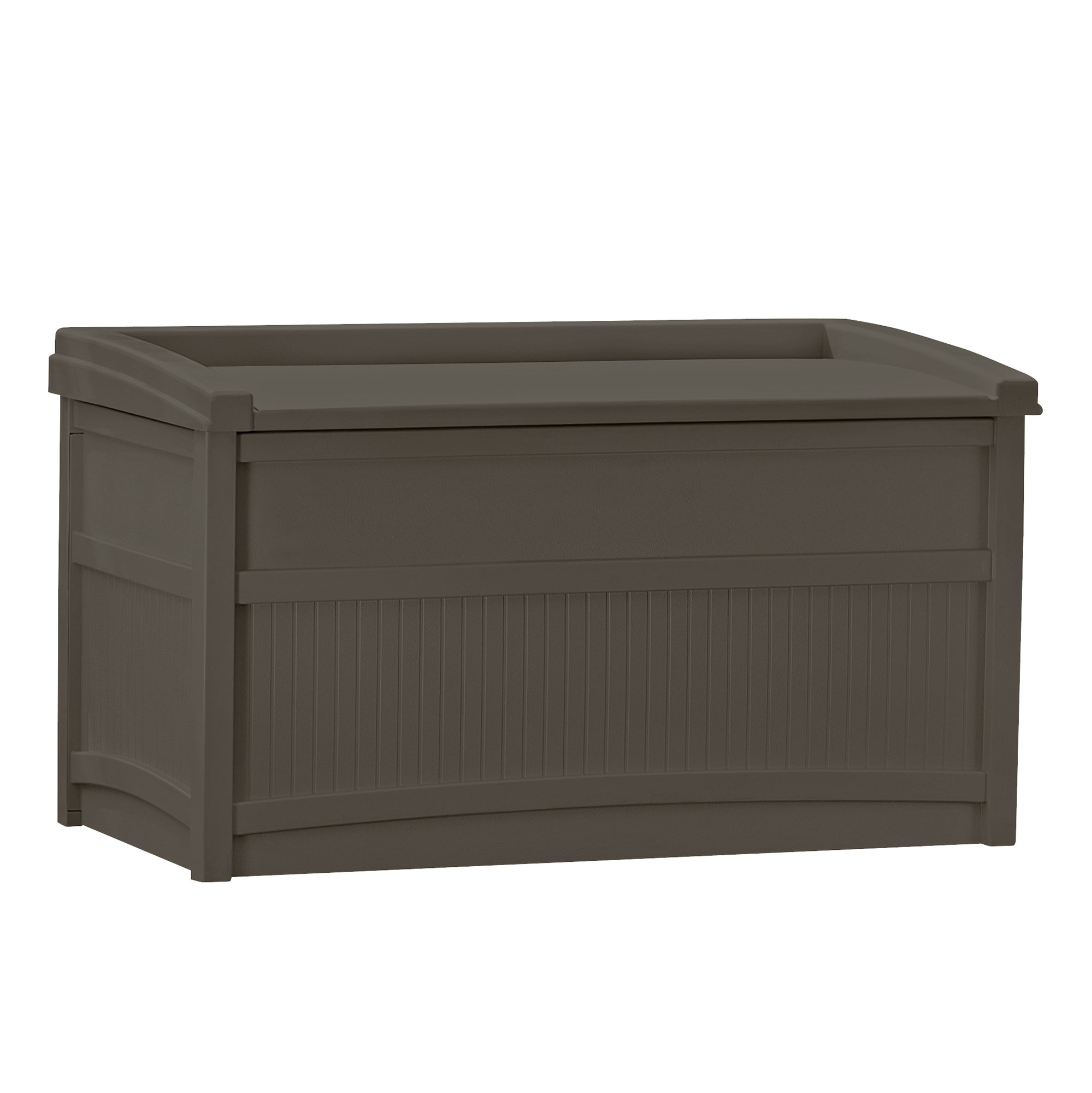 Suncast DB5500J 50-Gallon Deck Box with Seat
