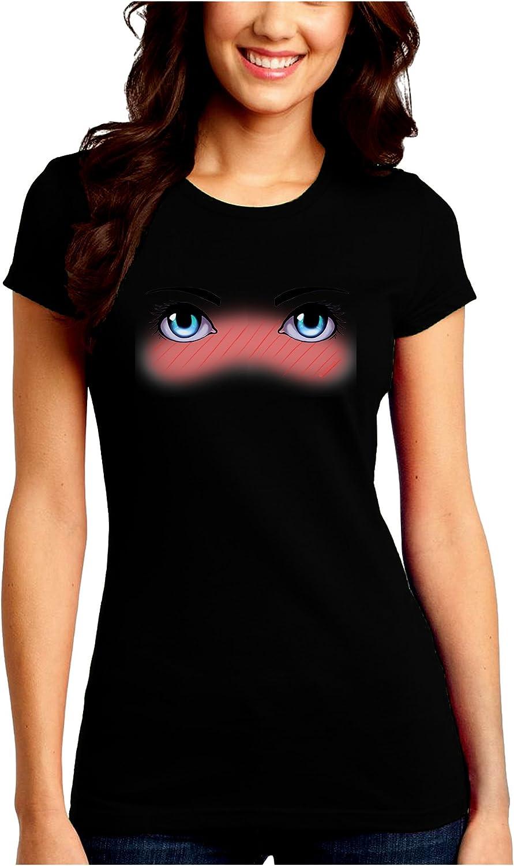 TooLoud Blushing Anime Eyes Muscle Shirt