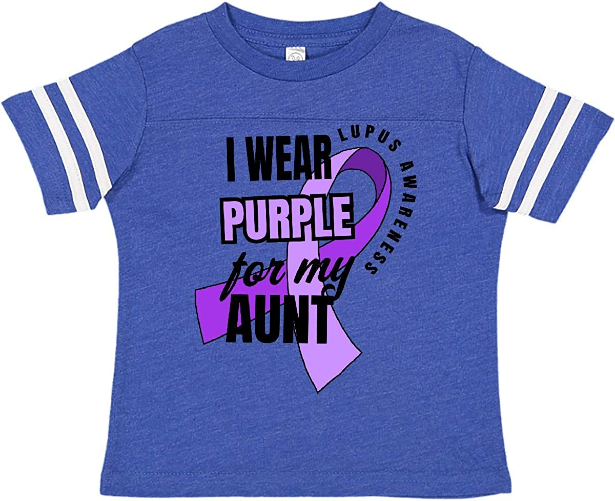 inktastic I Wear Purple for My Great Uncle Lupus Awareness Baby T-Shirt