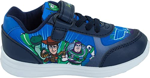 Boys Disney Toy Story Easy Fasten Trainers Shoes