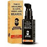 Muuchstac Herbal Beard Growth Oil For Men for Thicker & Longer Beard and Filing Patchy Beard, 60 ml