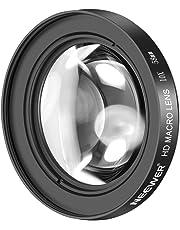 Neewer 58mm 10X Macro Primer Plano Lente con Vidrio Antirreflectante HD para Canon EOS 80D, 70D, 60D, 50D, 1Ds, 7D, 6D, 5D, 5DS, T6s, T6i, T6, T5i, T5, T4i, T3i, T3 y SL1 Digital SLR Camaras