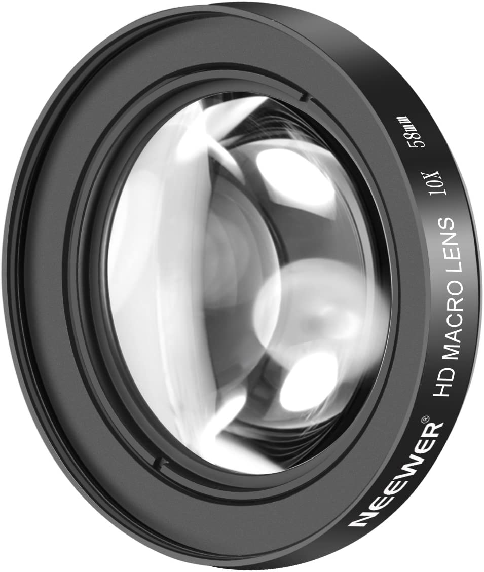 58mm Lens Macro Canon EOS Rebel T4i 10x High Definition 2 Element Close-Up