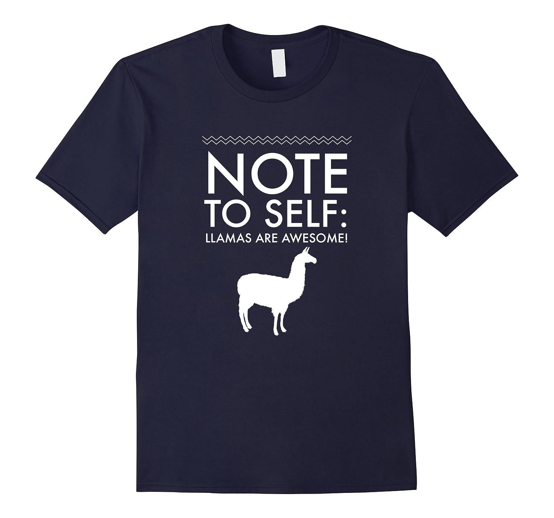 Llama Lovers T-Shirt Llamas are Awesome Funny Tee-TD