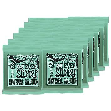 Amazon Com 12 Sets Of Ernie Ball 2626 Nickel Not Even Slinky Drop