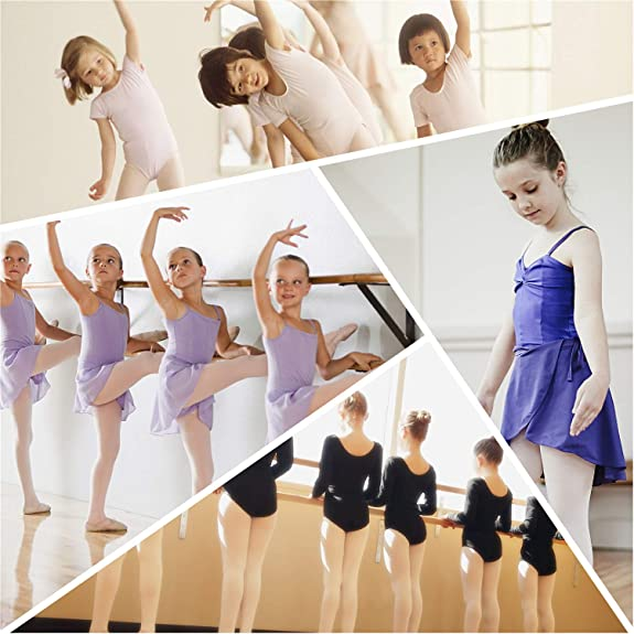 d0915ec380ad2 FEETCITY Professional Ballet Flats Dance Gymnastics Yoga Shoes for Womens  Pink 4.5 B(M) US Women