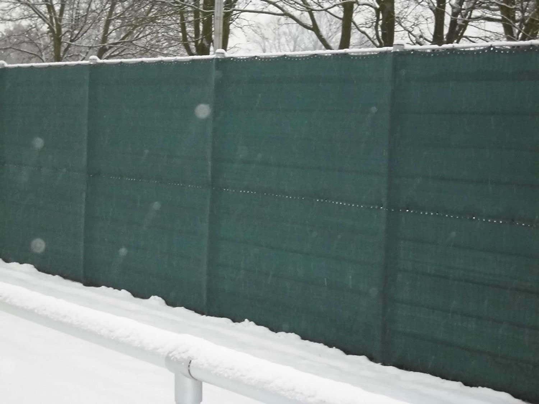 1 59 M Sichtschutz Windschutz Bauzaun Zaunblende Schattiernetz