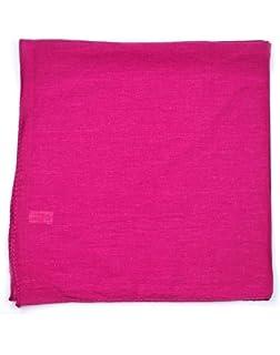 Einfarbig Hostess Messe Tuch 100/% Baumwolle Bandana Kopftuch Halstuch Biker Nicki Tuch Braun Uni