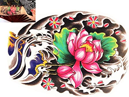 Novu Ink temporal tatuajes manos transferencia goliton japonés ...