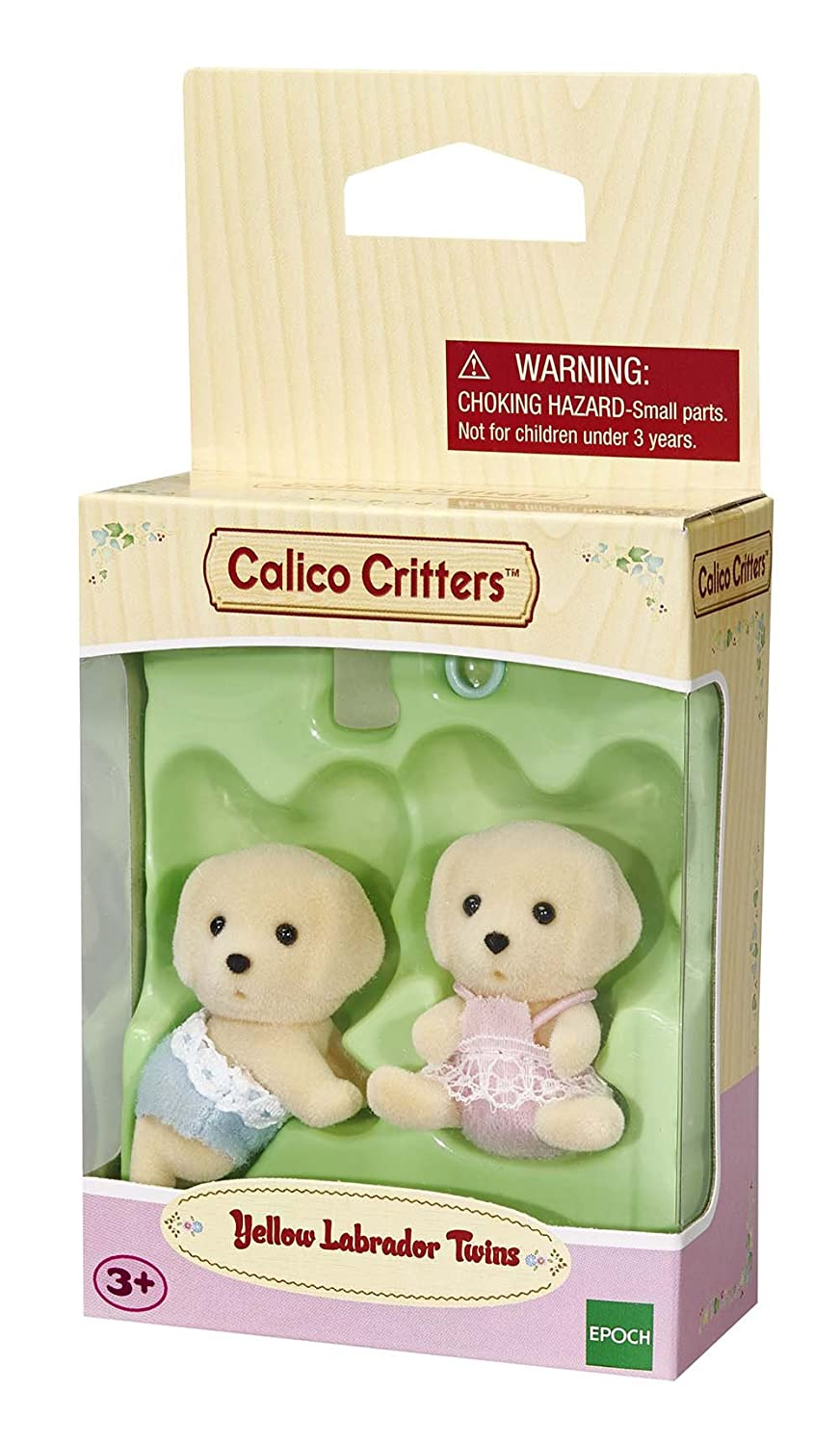amazon com calico critters yellow labrador twins industrial