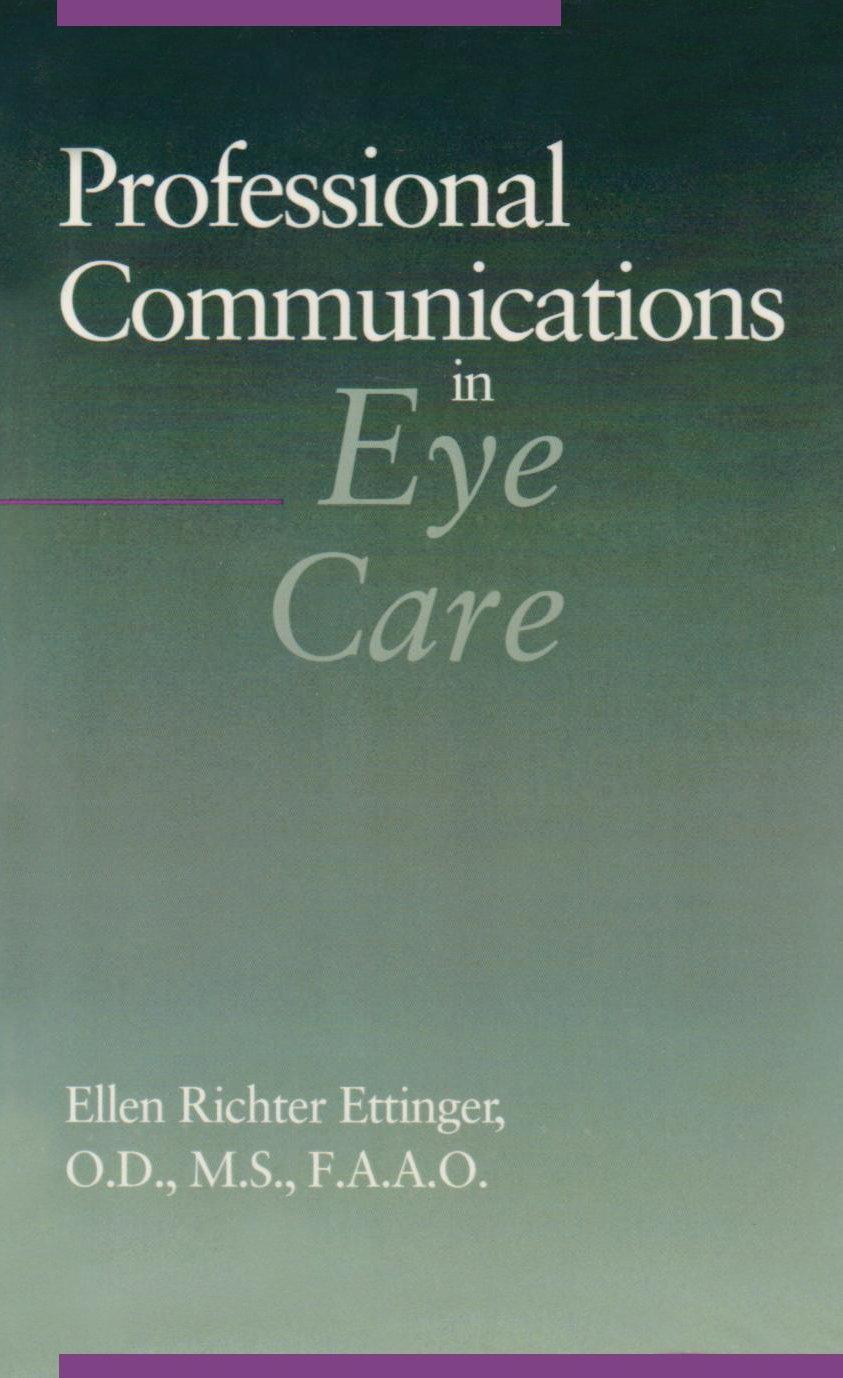 Professional Communications in Eye Care by Brand: Butterworth-Heinemann