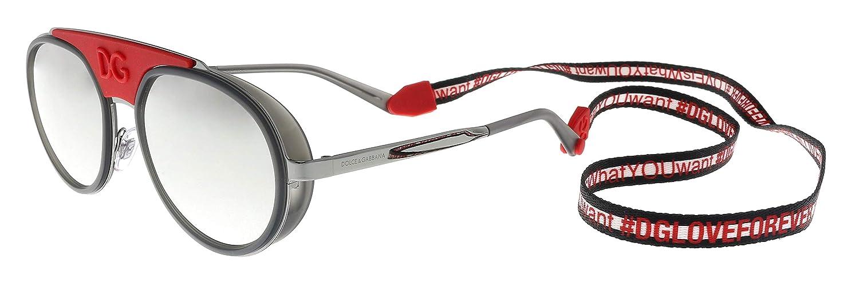 Amazon.com: Dolce&Gabbana DG2210 - Gafas de sol (04/6G-55 ...