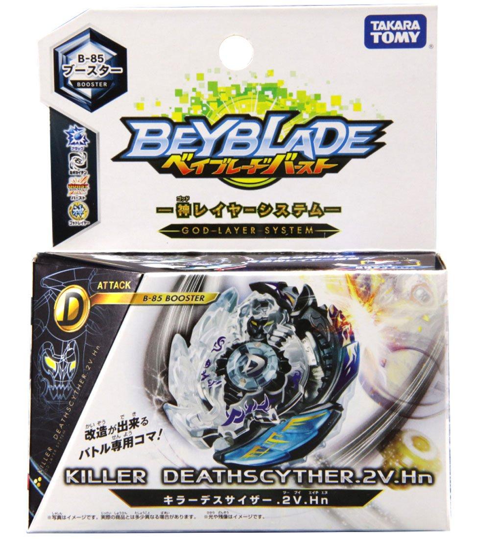 Takaratomy B-85 Beyblade Burst Killer Deathscyther.2V.Hn Attack Booster