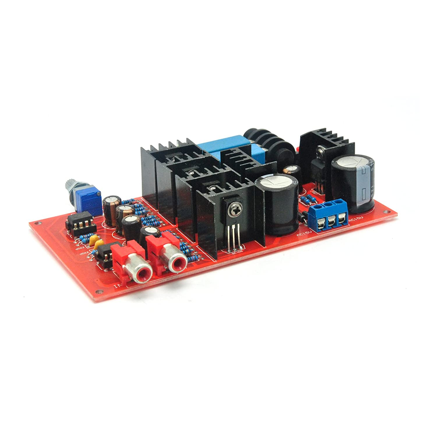 Hi Fi Amp Class A Ne5534 Headphone Amplifier Board Diy Op Circuit This Is An Exercise In Speakers